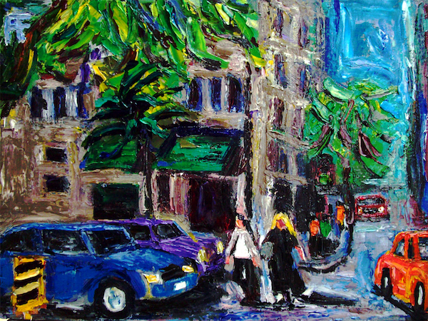forrest_georgia_street_gucci_store_vancouver_hotel_oil_on_canvas_panel_14x18_2015