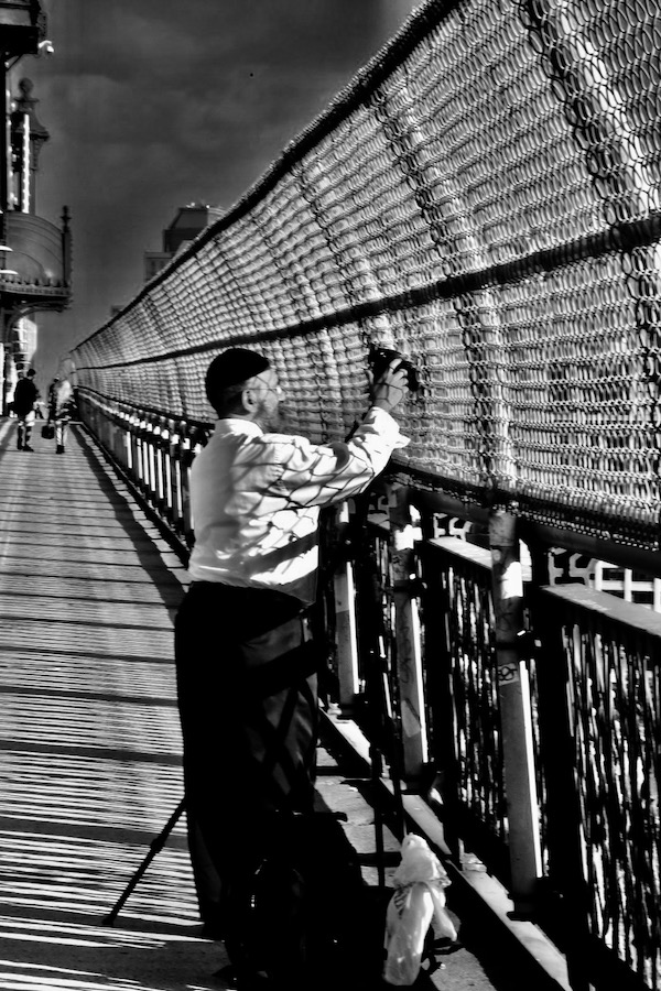Dedicated Shooter. Manhattan Bridge.