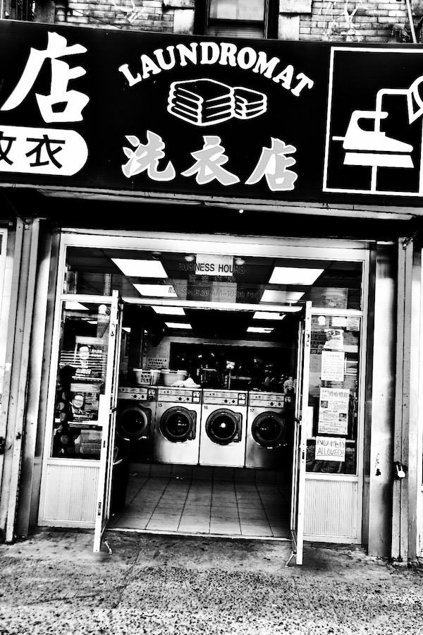Open Door Policy. China Town.